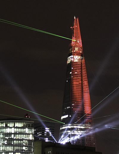 A Super Star Destroyer in Central London